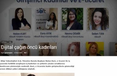 Nalan KURT 'un Kaleminden. Dijital Çağın Öncü Kadınları - Söz Gazetesi